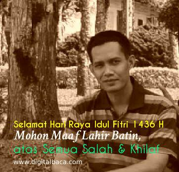 Selamat Hari Raya Idul Fitri 1436 H - Mohon Maaf Lahir Batin