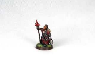 Władca Pierścieni figurka Szamana Orków z Mordoru