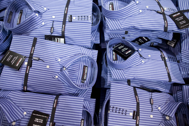 T C C Cosco Kirkland Dress Shirts Made In China Mitt