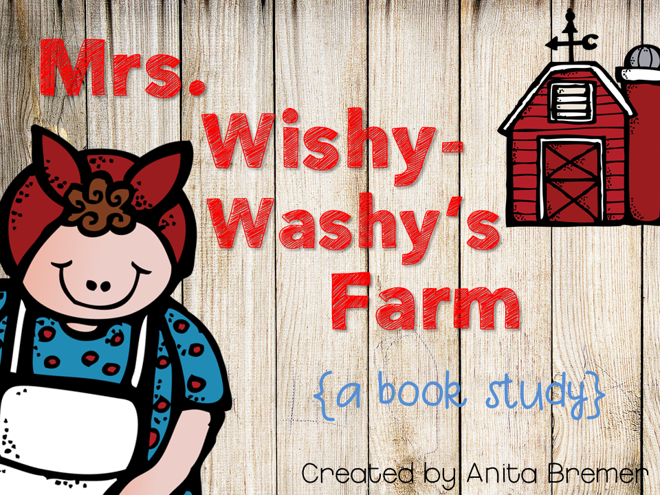 Mrs wishy washy character study