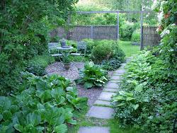 Gröna trädgården