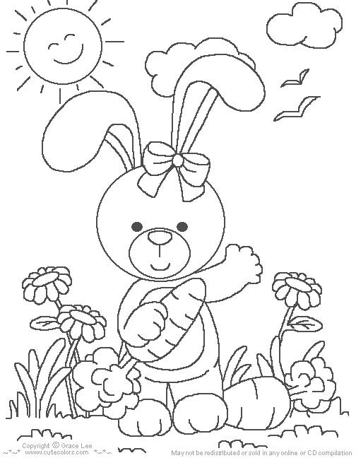 imagens para colorir sobre a pascoa - Desenhos de Páscoa para colorir jogos de pintar e imprimir