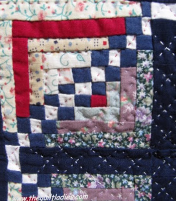 Happy Fourth of July with a Red, White and Blue Quilt