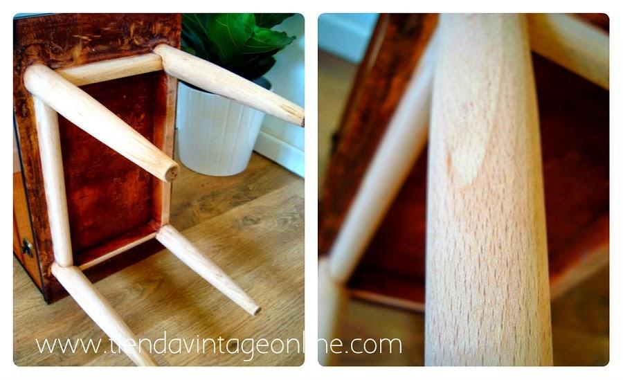 Mesas de madera estilo retro