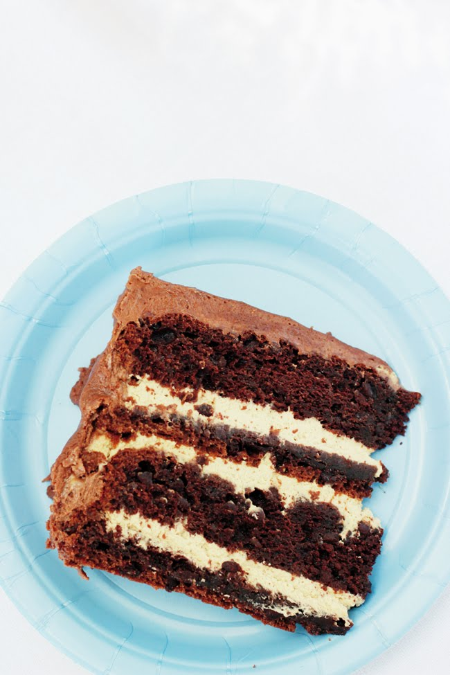 Once Upon My Life: Mocha Fudge Cake