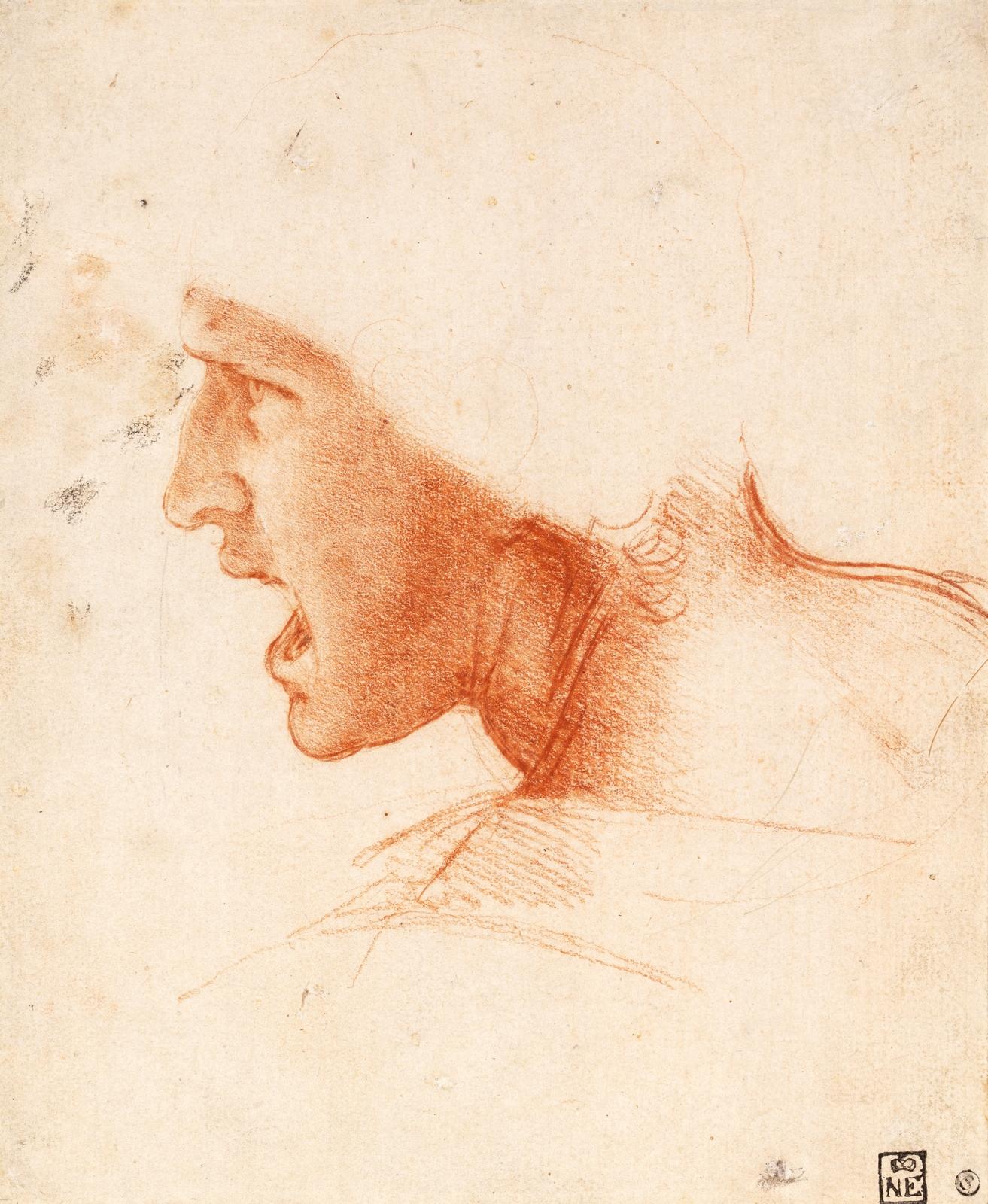 Леонардо картины рисовать
