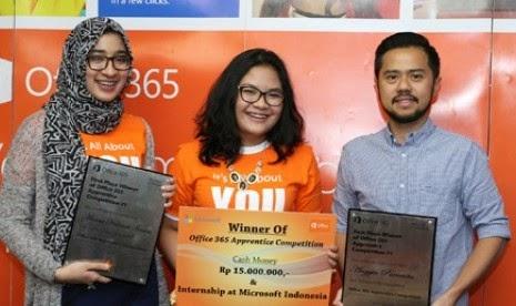 mahasiswa universitas indonesia memenangkan kejuaran microsoft