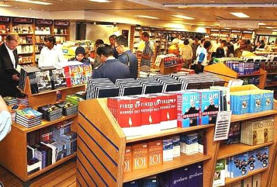 Book lovers: Visitors browsing for books on board the MV Logos Hope at the Port Klang Cruise Centre Thursday.