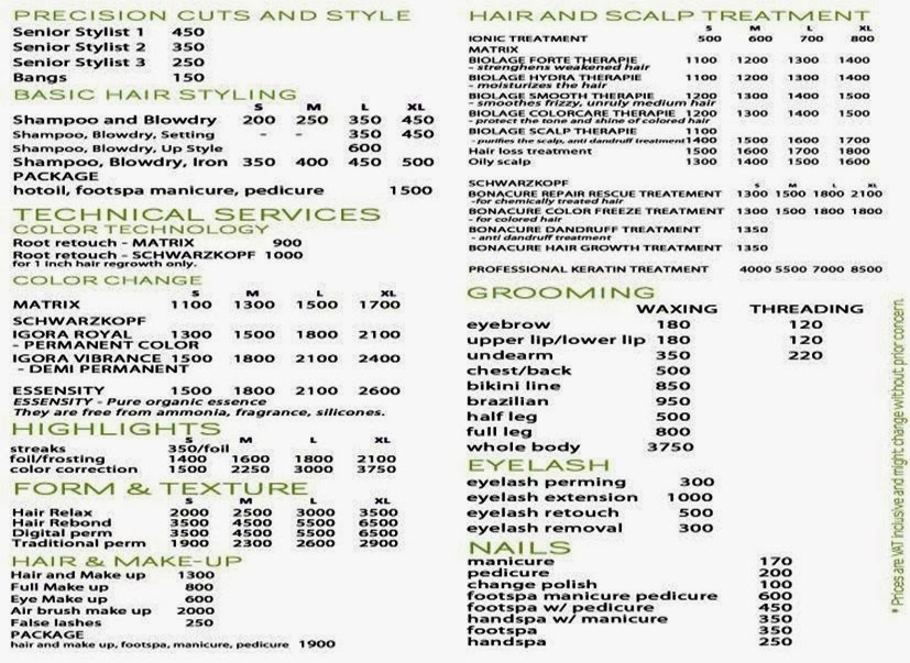 Hair Salon Services : ... : Status Hair Salon: The New Age in Hair & Beauty Salon Experience