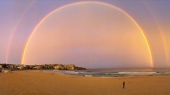 The Double Rainbow Over Sydney was awesome but not the first of its kind