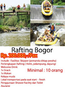 Rafting Bogor
