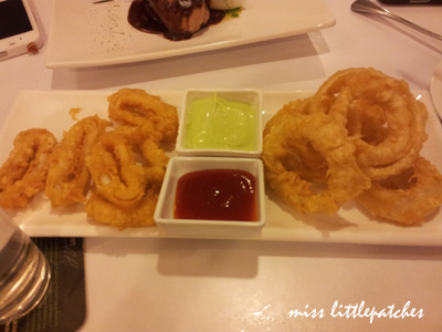Calamari & Onion Rings