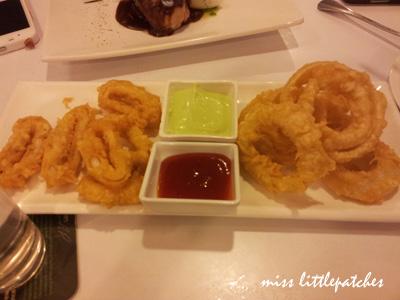 Calamari & Onion Rings
