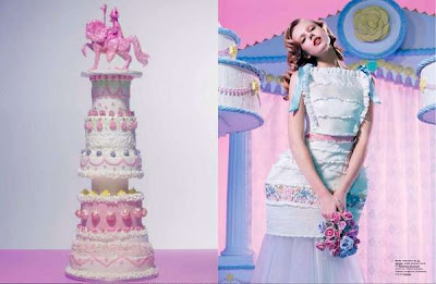 Cake Inspired Fashion Editorial