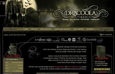 Dracoola, Web Hosting Murah Terbaik Indonesia
