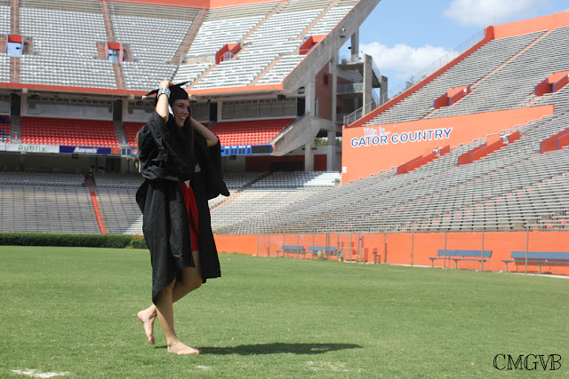 fashion blogger, Diana Dazzling, cmgvb, graduation, UF, the Swamp, Gator Country, UF, University of Florida, Commencement, Gainesville