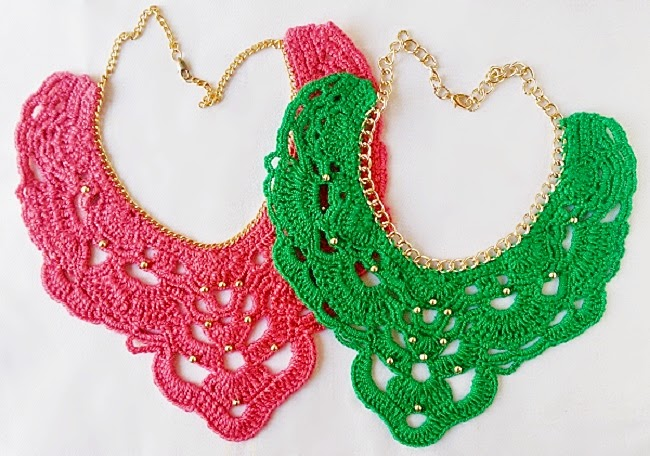 Collares en Crochet Eleana