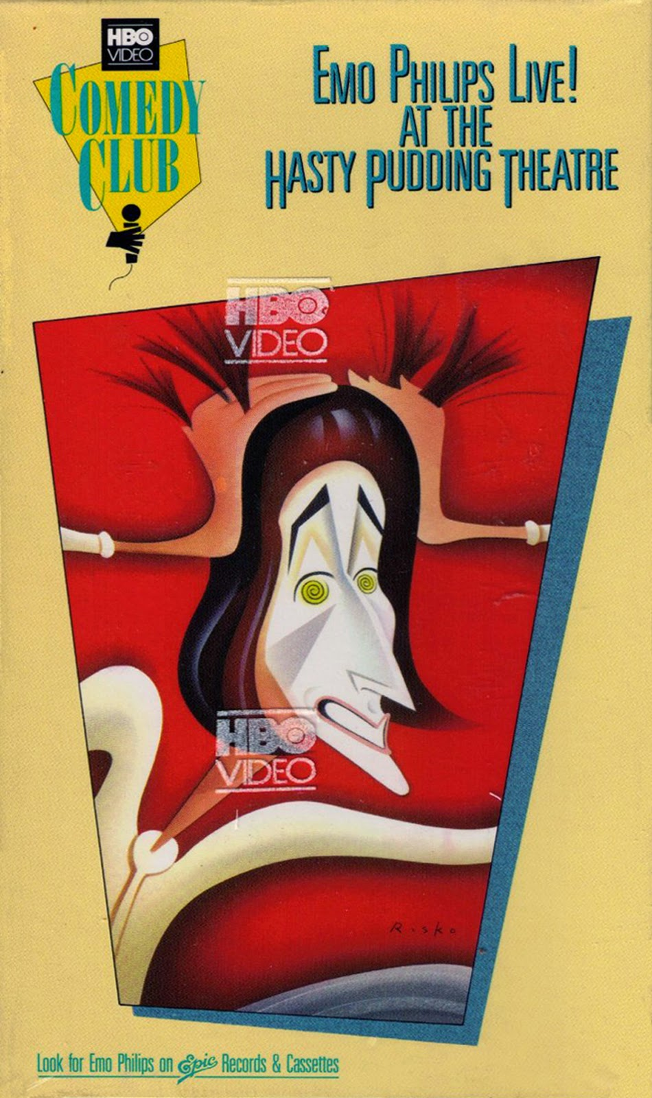 vintage stand up comedy emo philips e mo plus live at the live at the hasty pudding theatre video