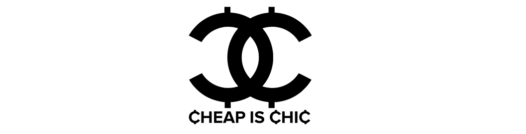 Cheap is chic