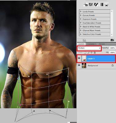 Adobe Photoshop Learning: David Beckham Photoshop: How To
