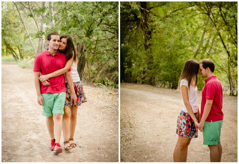 El Diván Azul: sesión de fotografía de pareja