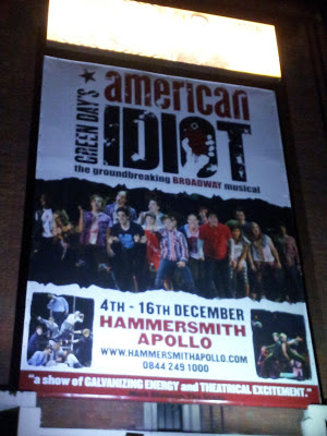 Green Day American Idtiot Musical Londres Hammersmith Apollo Rock'n'Live