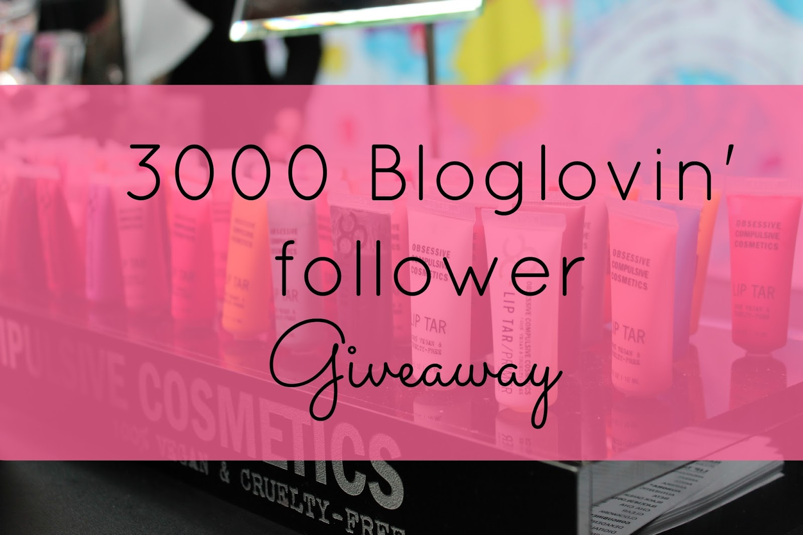 3000 bloglovin follower giveaway