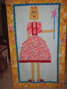 Princess Quilt for a child's door
