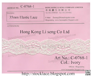 35mm Elastic Lace Supplier - Hong Kong Li Seng Co Ltd