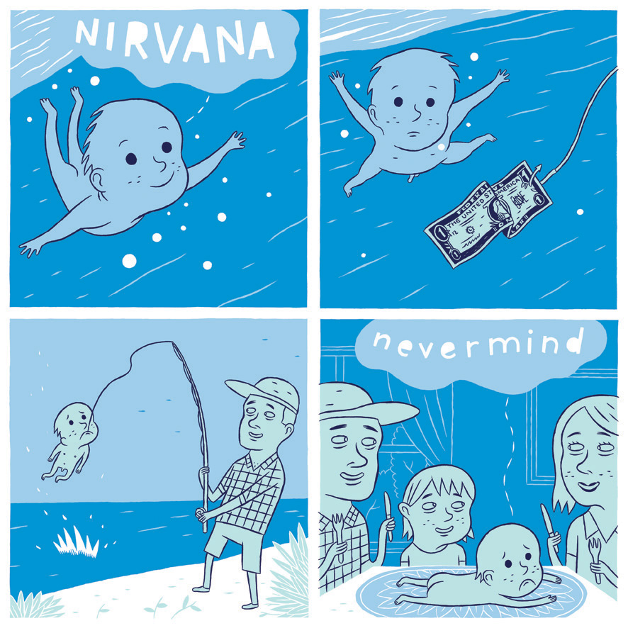 what happened with the baby of the nirvana nevermind album