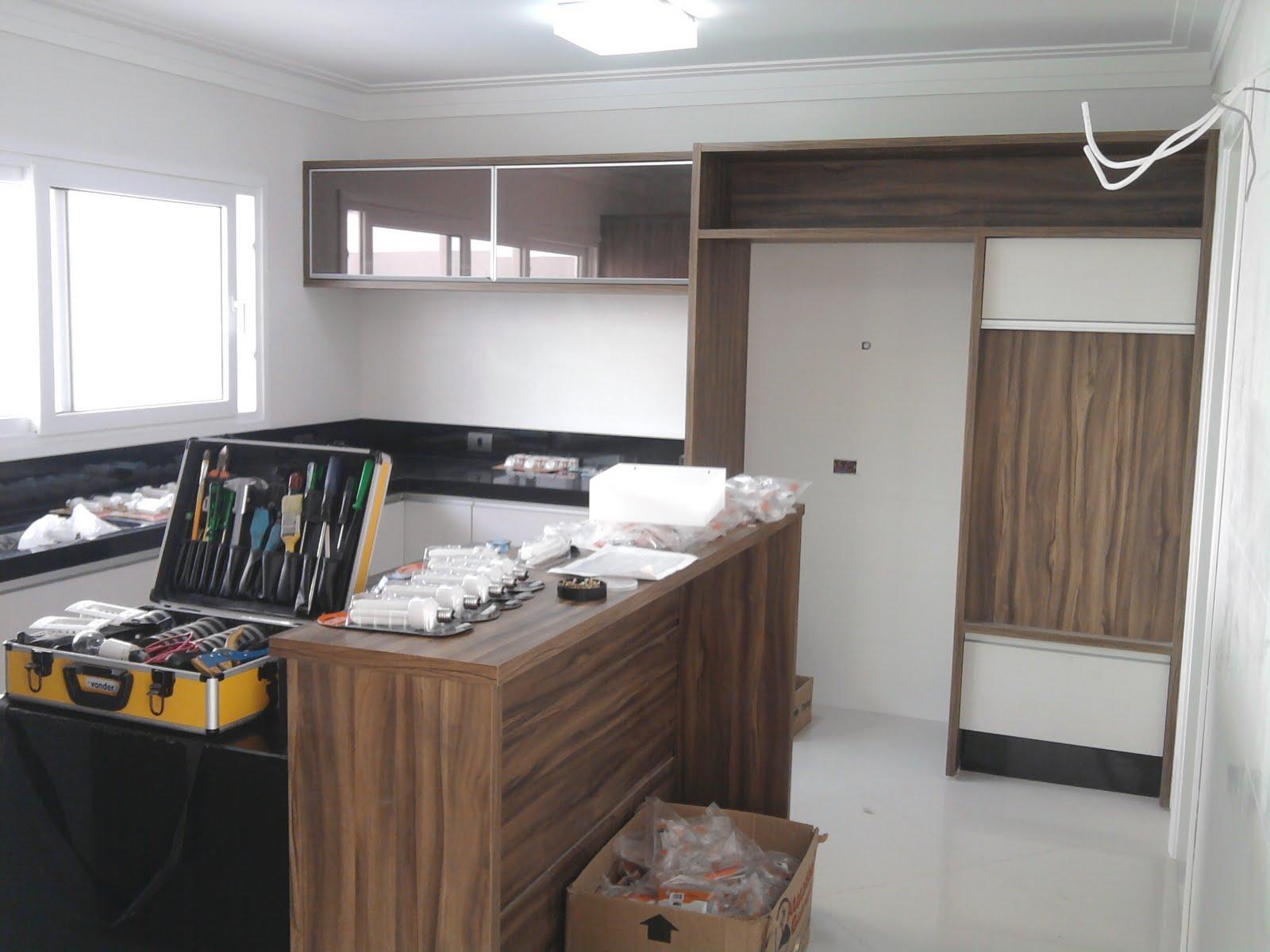 Ao Cubo Projetos: Cozinha Americana #A57726 1600 1200