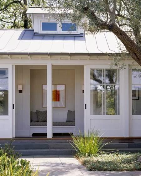 La dolce vita farmhouse style two ways for Farmhouse sliding door