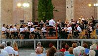 """La banda de Nava participó en el festival de bandas """" Segovia Suena"""""""
