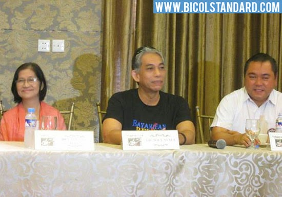 Press conference of Anduyog sa Salog concert featuring Joey Ayala Photo by Oscar Esmenda/BICOLSTANDARD.COM