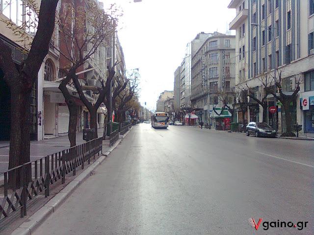 Ο πιο κεντρικός δρόμος της Θεσσαλονίκης