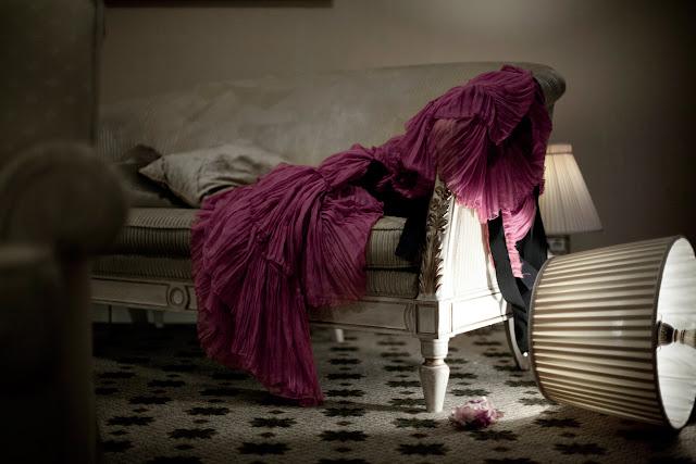 Silk Chiffon Gown Style Heroine