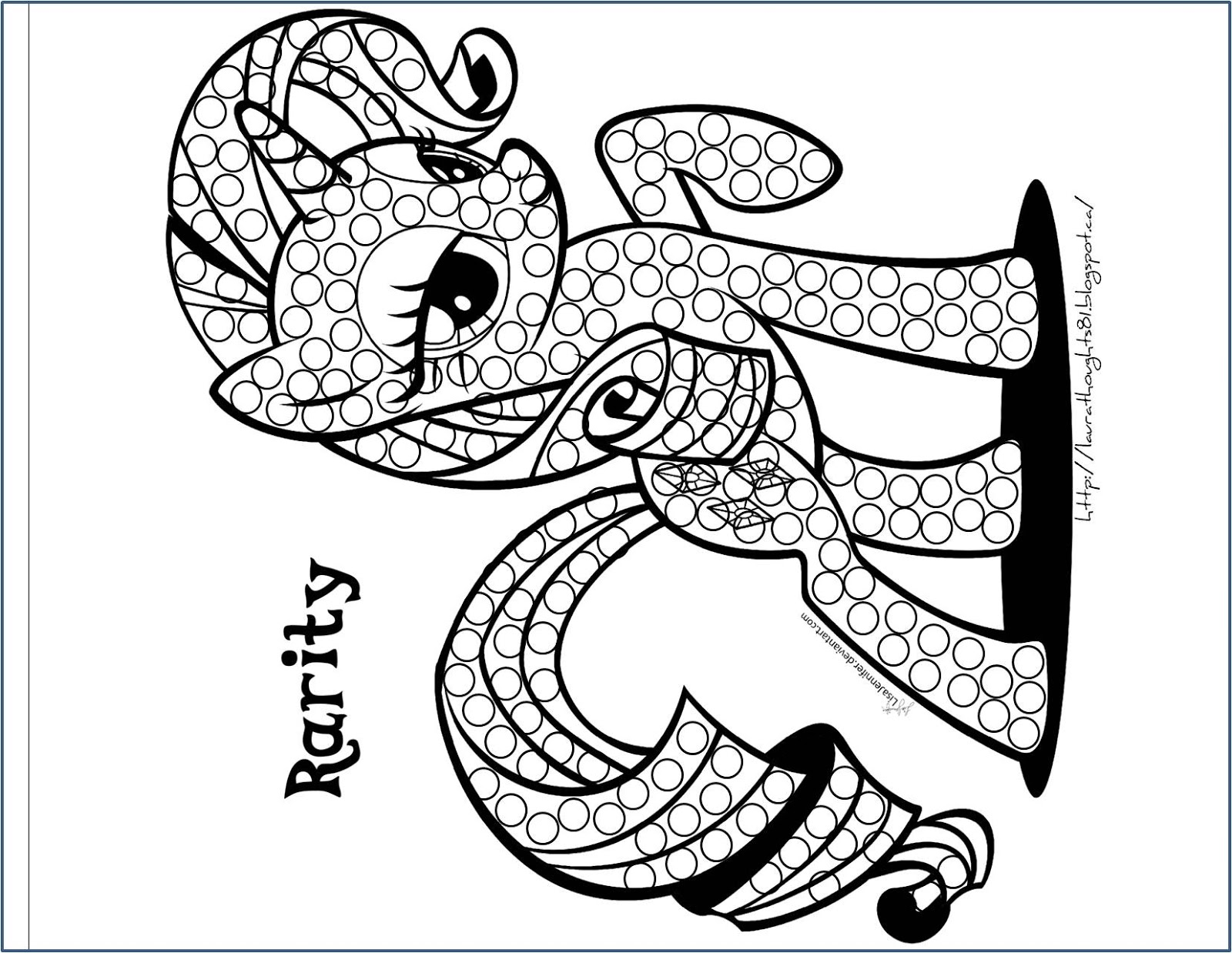 q tip coloring pages - photo #9