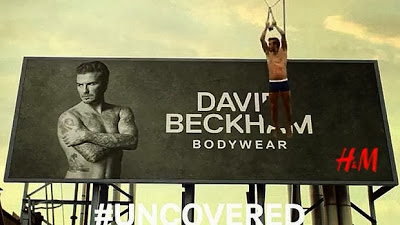 David Beckham Naked In H&M's Super Bowl Commercial