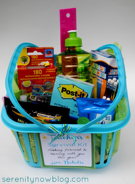 Teacher's Survival Kit, from Serenity Now blog