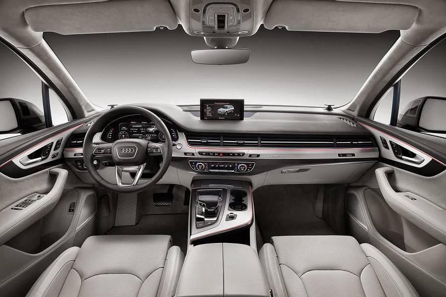 Audi Q7 (2016) Dashboard