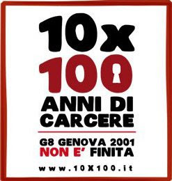 G8Genova 2001 non  finita! dieci, nessun@, trecentomila