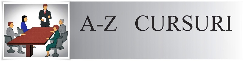 A-Z Cursuri