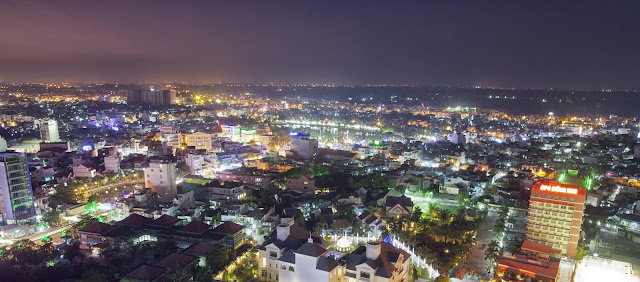 Biên Hòa City by night