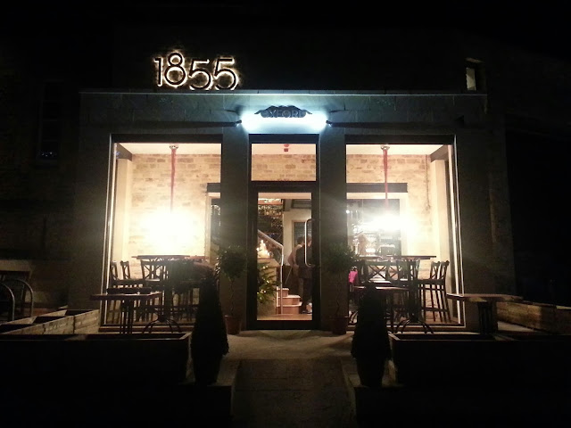1855 Oxford wine bar and bistro