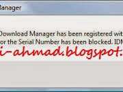 Cara Menghilangkan Fake Serial Number IDM