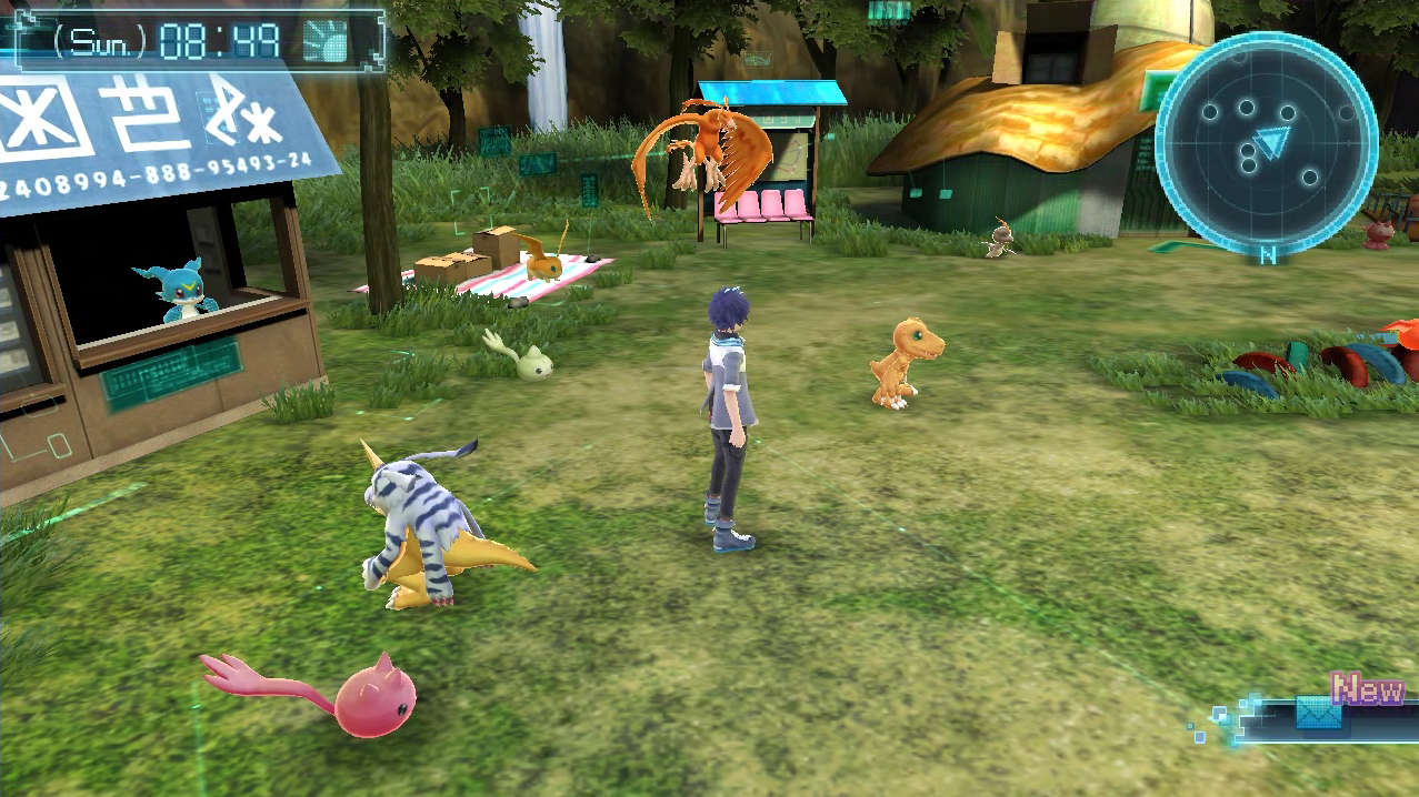 digimon world next order how to get trainer points