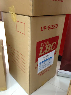 LBC Balikbayan Up sized box