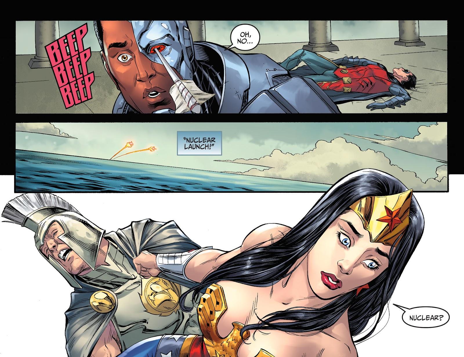 Injustice: Gods Among Us Year Four Issue #23 #24 - English 14