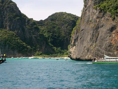 Tiny island in Krabi Thailand