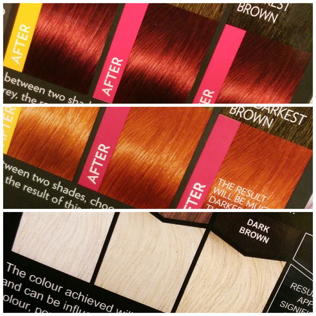 best products for red ombre dip dye hair